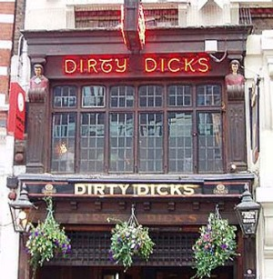 Pub with many tales ... Dirty Dicks