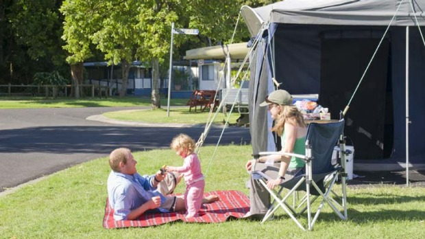 Family favourites ... Silver Sands Holiday Park.