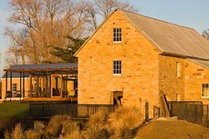Nant whisky distillery at Bothwell, Tasmania.