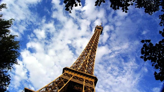 The Eiffel Tower, Paris. Australians have always flocked to Europe despite the expense.