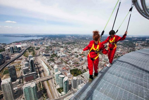 The 553-metre CN Tower, built in 1976, already boasted a glass floor on part of its viewing platform, prompting a ...