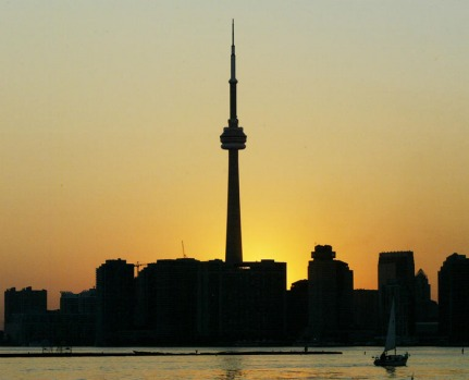 The tallest building in Canada, the CN Tower was also the biggest freestanding structure in the world until 2010.