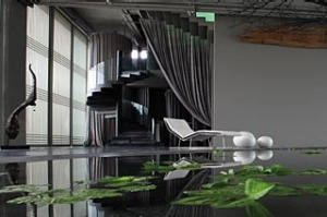 Flavour enhanced ... Green T House Living has a spa, gallery and restaurant.