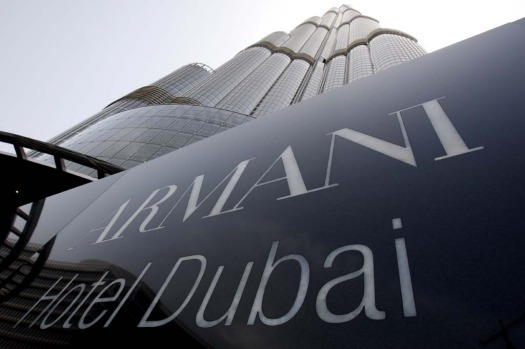 Armani hotel dubai review haute and hot in dubai for Burj khalifa room rates per night