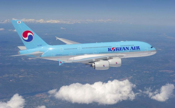 Korean Air took possession of its first A380 at the start of June, with its first flights, from Incheon in South Korea ...