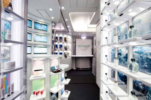 The airline says its duty free shop at the back of the plane, where passengers can browse actual items rather than be ...