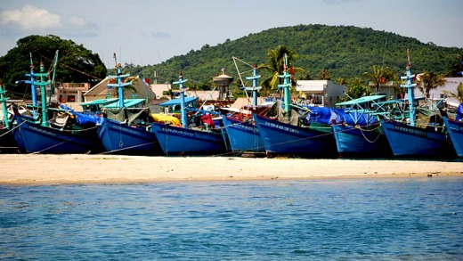 Fishing, not tourism, is still the dominant industry on Phu Quoc.