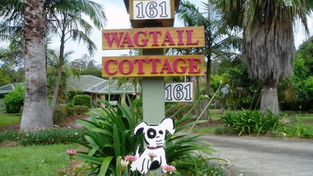 Dog day ... Wagtail Cottage.