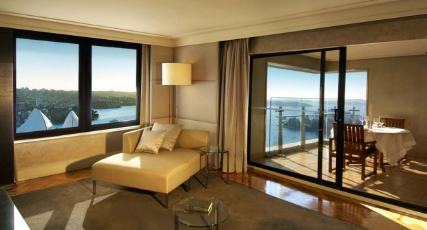 Australia Suite, InterContinental. Currently the largest suite in Sydney at 245 square metres, this suite features  ...
