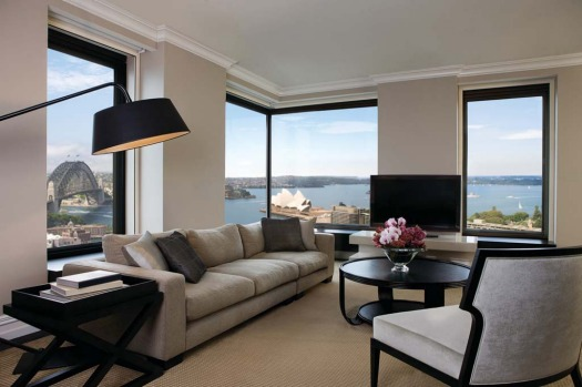 Presidential Suite, Four Seasons Hotel. This 156-square-metre two-bedroom suite is located on the top floor, level 34, ...