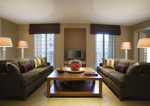 Wentworth Suite, Sofitel Wentworth. This suite features a dining room that seats up to 12, a kitchenette, guest powder ...