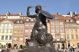 Warsaw's Old Town is as pretty as any in Europe.