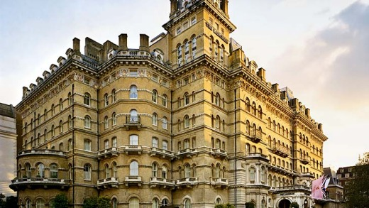 The Langham is one of the oldest hotels in London.
