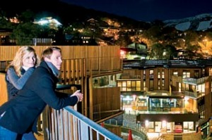 Night fever ... Quay West Resort and Spa. Falls Creek