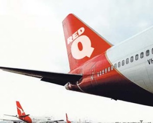 RedQ ready to take off. <em>This image has been digitally altered</em>