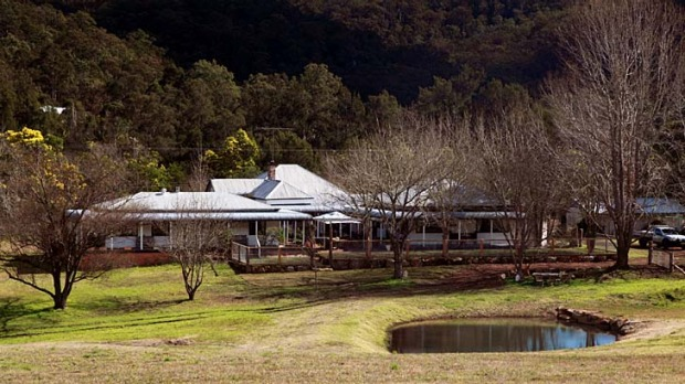Tree-changers ... Avoca House B&B Farmstay has urban comforts, country seclusion and a farmyard for children.