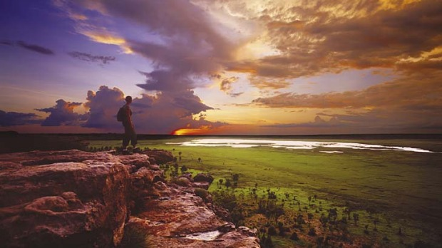 Holiday at home ... the Northern Territory's Kakadu National Park.