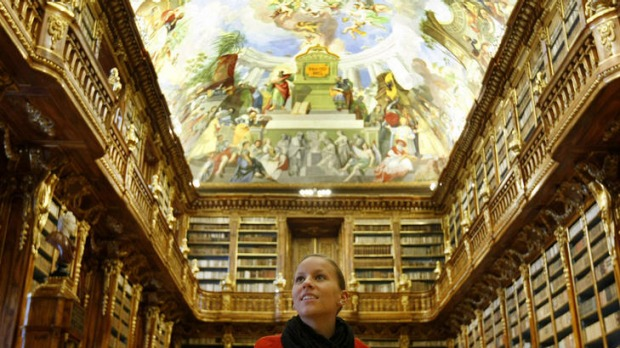 Must-visit ... the  Philosophical Hall in Strahov Monastery.