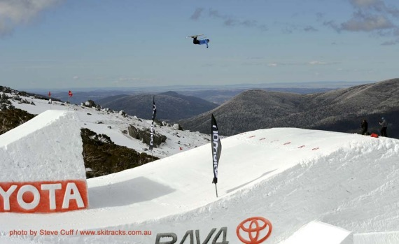 Jesse Houghton at the One Hit Wonder in Thredbo, by Steve Cuff.