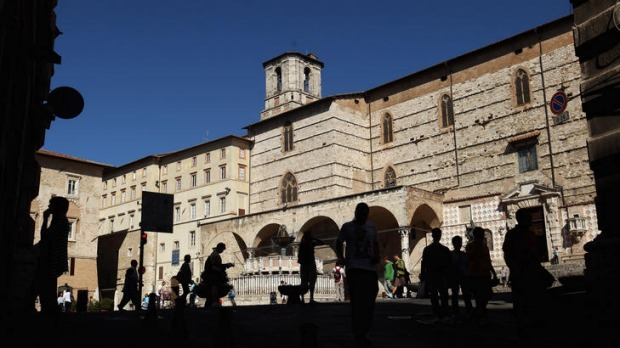 Perugia locals fears the Amanda Knox murder trial has left the city with a reputation for drugs, orgies and drunken students.