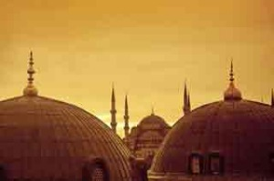 Istanbul's Blue Mosque.