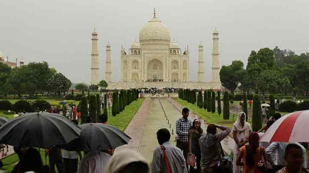 The Taj Mahal, India, is in danger and could be a thing of the past within five years, a historian says.