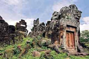 The ruins of Vat Phou in southern Laos hold secrets that are being destroyed by development.