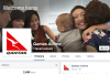 The fake 'Qantas Airline' Facebook page with 2,488 likes.