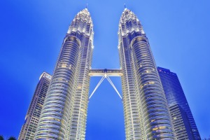 Iconic: Petronas Twin Towers.