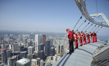The CN Tower Edgewalk, Toronto: Canada's tallest tower ramps up the whole observation deck terror thing considerably by ...