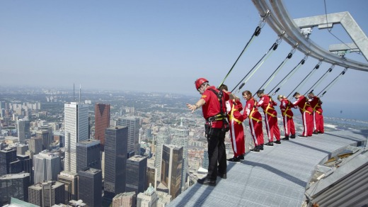 Head for heights: The view from the top of the tower is breath-taking.