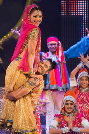 The Merchants of Bollywood Show at  Peacock Theatre in  London.