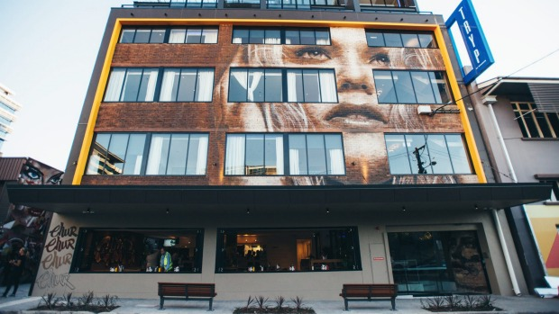 TRYP in Brisbane's Fortitude Valley is the first Art Hotel in the city's CBD.