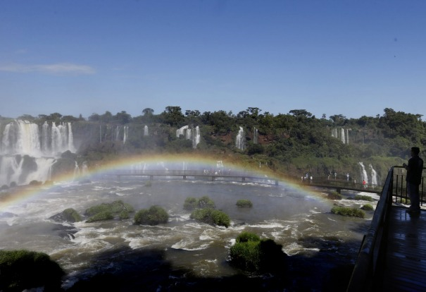"""8. Iguazu Falls, Brazil - Argentina: """"Big? These falls are mind-bogglingly mighty: tourist boats that ply the foaming ..."""
