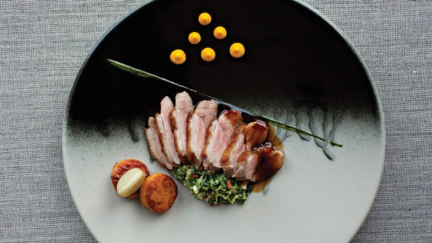 Breast of duck at MacNean House and restaurant.