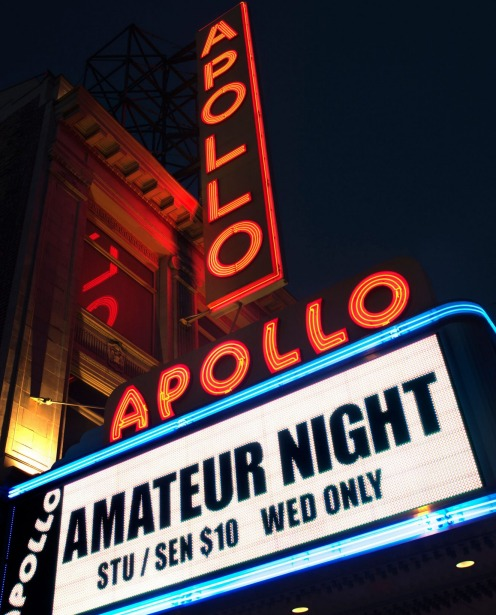 Apollo Theatre, Harlem, New York.