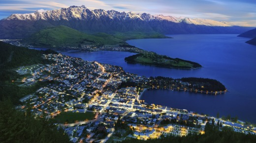 Adrenaline-loving teens will love  Queenstown.