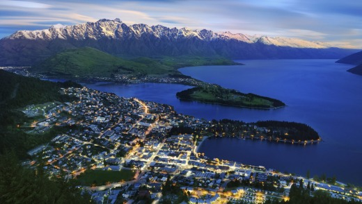 Queenstown and the Remarkables in New Zealand offer a winter destination with variety on and off the slopes.