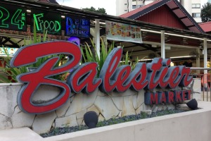 The Balestier Market, Singapore.