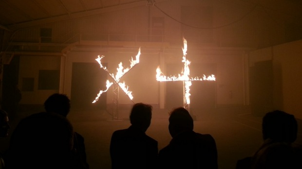 The launch of Dark Mofo 2013 - Museum of Old and New Art.
