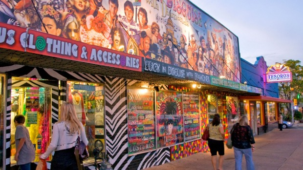 South Congress Avenue features quirky and fun local shops and entertainment.