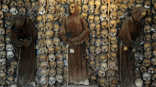 Capuchin Crypt: The Capuchin crypt under the Church of Santa Maria della Concezione at Via Veneto 27 is made up of ...
