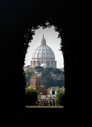 Keyhole: While Rome is grand, much of the joy lies in the tiny details, like the omnipresent bees in the paintings of ...