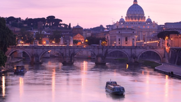 The Tiber: Rome is built around the seven hills and the River Tiber. The river, its bridges and islands provide a ...