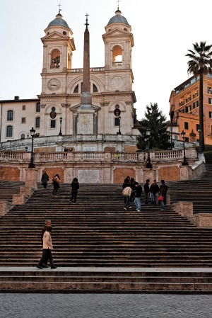 Spanish Steps: Only Paris has as many must-see sights as Rome - and the Spanish Steps at the eastern end of the Via dei ...