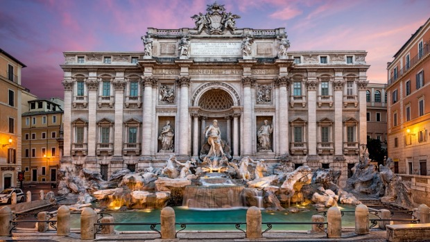 Has anyone been to Trevi Fountain in Rome and been disappointed?