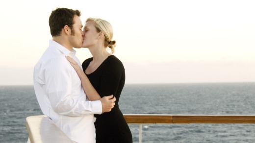 R is for romance and L is for love on the high seas.