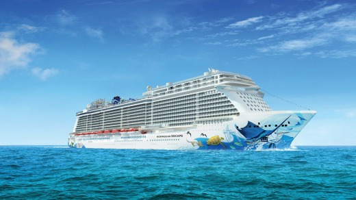 The Norwegian Escape: Launching in Vovember 2015, the first of NCL's new Breakaway Plus class of ships, Escape will be ...