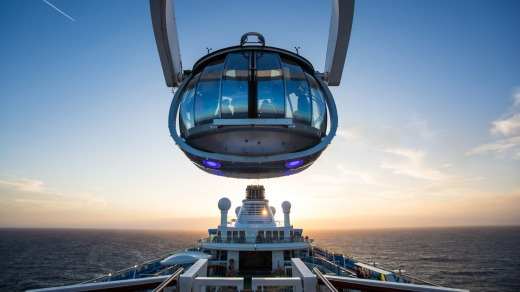 Royal Caribbean International launched Quantum of the Seas, the newest ship in the fleet, in November 2014.