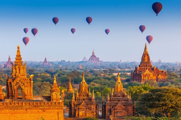 Your next screensaver: temples in Bagan, Myanmar.